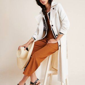 Anthropologie Collins Trench Coat